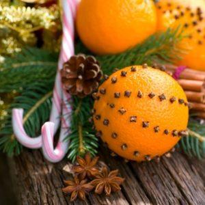 gespickte Orange