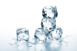 Eiswürfelexperiment