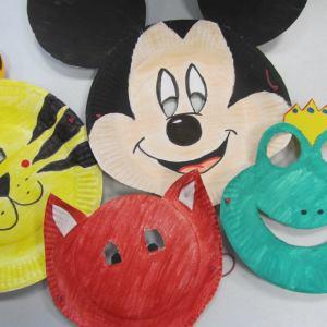 verschiedene Masken