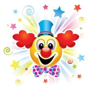 Clownsgesicht