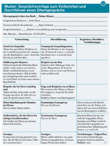 Schriftliche planung kindergarten
