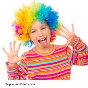 Kita-Kind als Clown