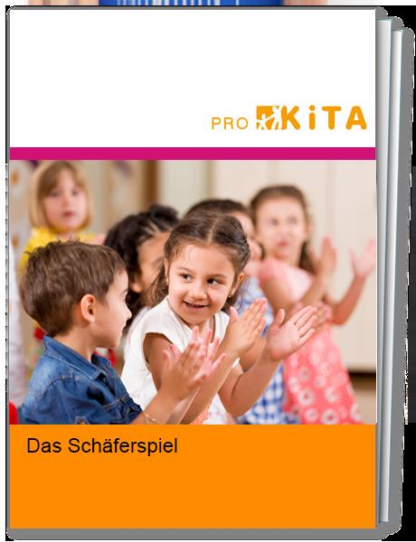 Lustiges Spiel zur Beschäftigung von Kita-Kindern