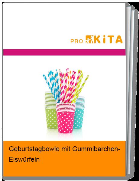 Geburtstagsbowle mit Gummibärchen-Eiswürfeln sorgen für den Geburtstagshit