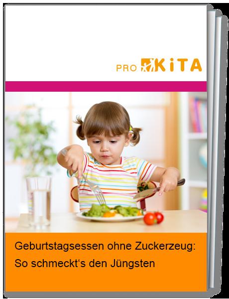Richten Sie zuckerfreie Lebensmittel besonders appetitlich und feierlich für die Kleinstkinder in Ihrer Kita an