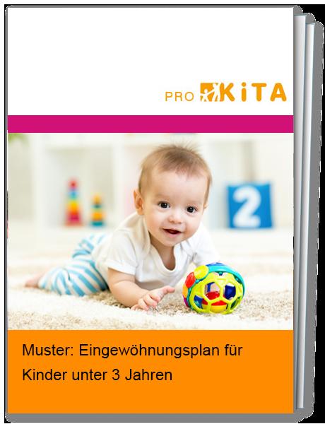 Eingewöhnungsplan für Kinder unter 3 Jahren