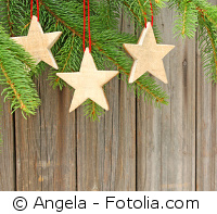 Sterne aus Holz