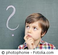 Kita-Kind stellt sich eine Frage